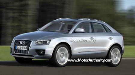 Recreaciones del Audi Q3 2010, ¿lanzamiento lógico?