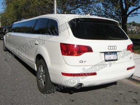 Audi Q7 versión limusina, ya ni se respetan los alemanes