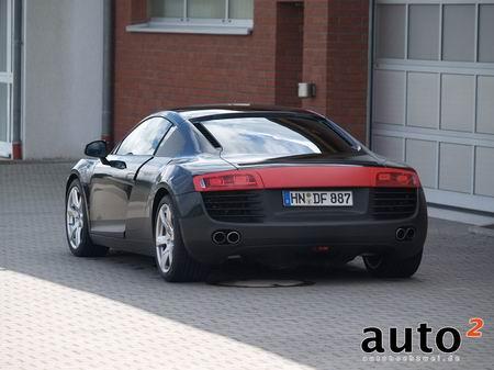 Video y nuevas fotos espía del Audi R8