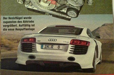 Audi R8 V12 TDi Study, el deportivo en diésel para Detroit