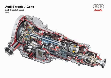 Audi actualiza su cambio semiautomático S-tronic