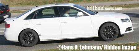 Fotos espía del Audi S4 2008