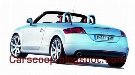 Audi TT Roadster 2007, primeras fotos oficiales