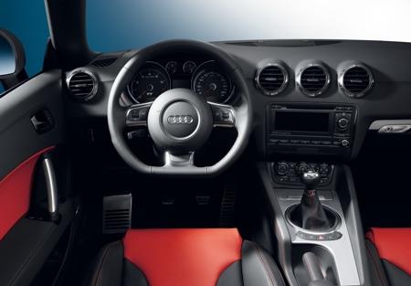 Audi TT, nuevos temas de color interiores