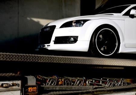 Audi TT visto por PPI, contraste de colores