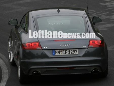 Nuevas fotos espía del Audi TT RS