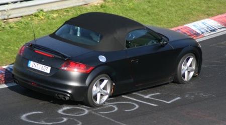 Nuevas fotos espía del Audi TT-S