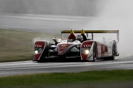 Audi R10 gana le mans mojado