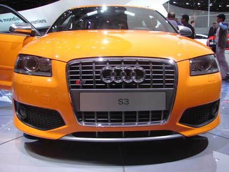 Audi S3 en el Salón de París