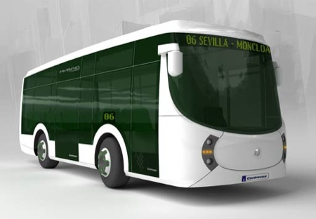 Castrosúa Tempus, un autobús híbrido español