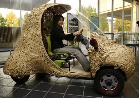 BamGoo, el coche eléctrico de bambú