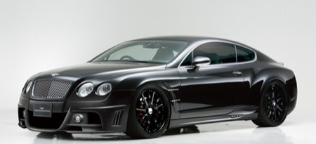 Bentley Continental GT Black Bison por Wald