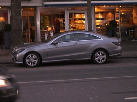 Mercedes-Benz Clase E Coupé