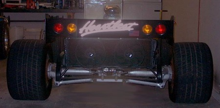Biplaza Muscle Car de 1000 Cv a la venta en Ebay