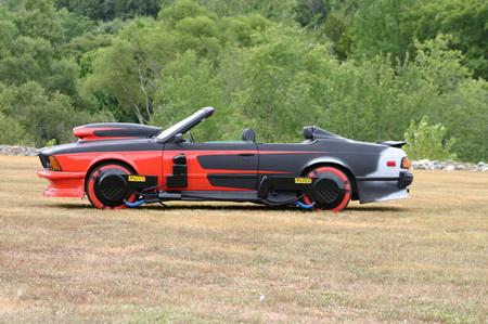 El BMW de Regreso al Futuro 2, un alarde de futurismo