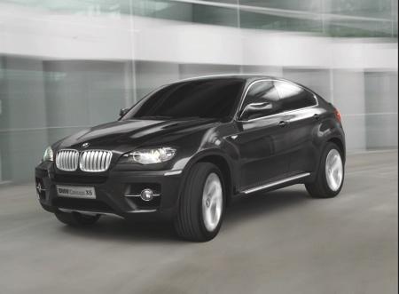 Imágenes oficiales del BMW Concept X6
