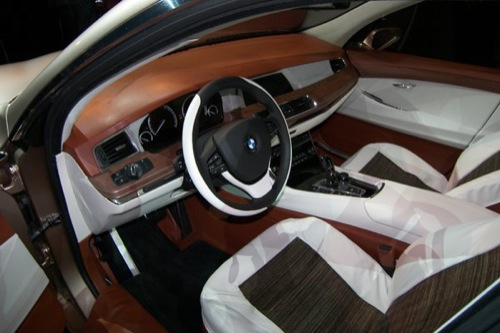 BMW Serie 5 Gran Turismo Concept, adelanto del PAS