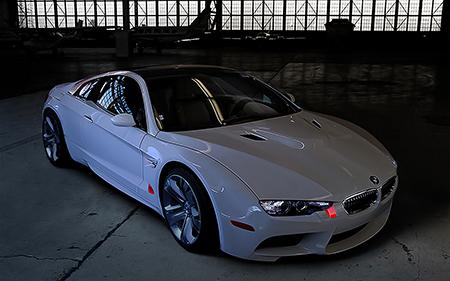 Recreación Photoshop BMW M1