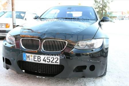 Nuevas imágenes espía del BMW M3 Cabriolet 2008