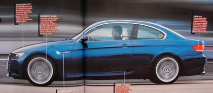 BMW M3 2008, primeras recreaciones