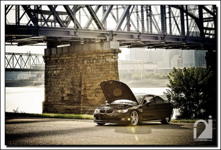 BMW Serie 3 Coupé E92, preparación en la frontera del diseño