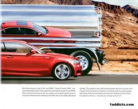 BMW Serie 1 Coupé, el folleto
