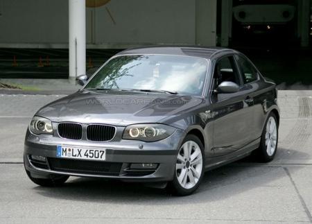 BMW Serie 1 Coupé, características técnicas