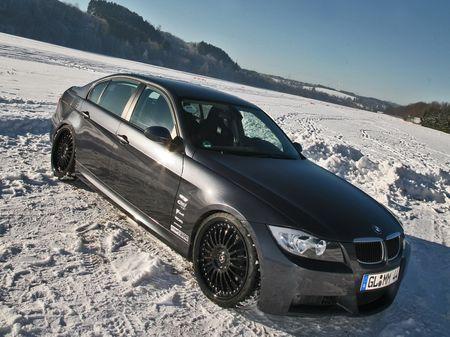 BMW 320d Winter Concept, el invierno llega de la mano de Miranda Series