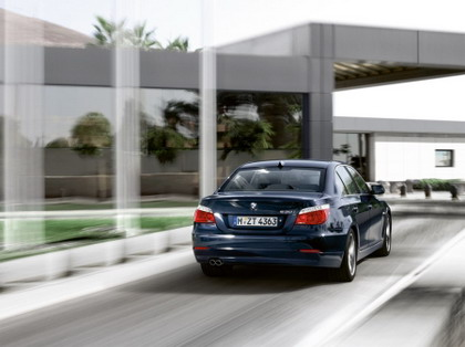 Primeras fotos oficiales del BMW Serie 5 restyle 2007