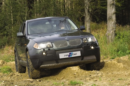 Convierte tu SUV en todoterreno: BMW X3 Hartge Hunter