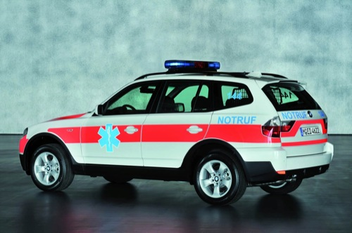 Bmw X3 xDrive20d Emergency Rescue Vehicle