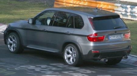 Posibles fotos espía del BMW X5 M en Nürburgring