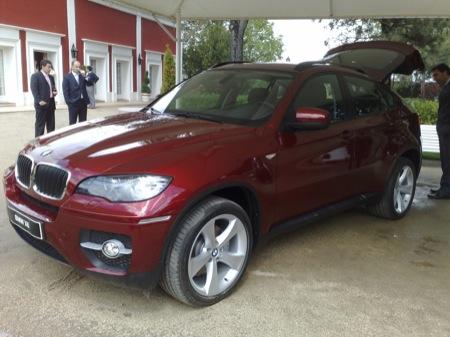 BMW X6, fotos de la presentación en España