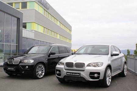 BMW X6 con paquete deportivo de Hartge