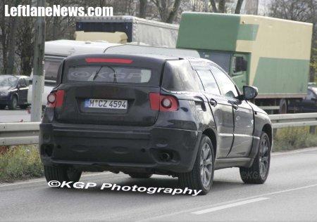 Primeras fotos espía del BMW X6