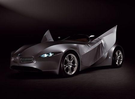 BMW GINA Light Visionmodel, con una carrocería que puede cambiar de forma