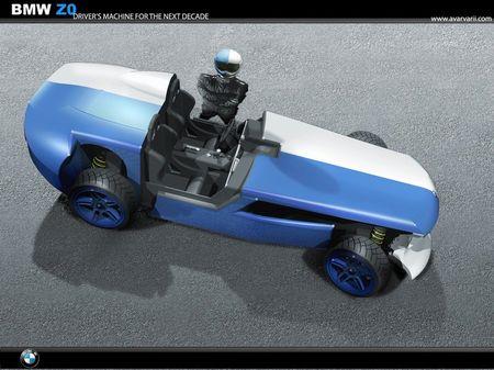 BMW Z0 Project, interesante ejercicio de diseño