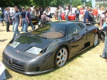 Bugatti EB100 SS con carrocería de fibra de carbono