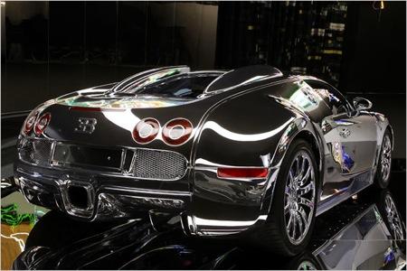 un bugatti veyron tan brillante como un espejo diariomotor. Black Bedroom Furniture Sets. Home Design Ideas