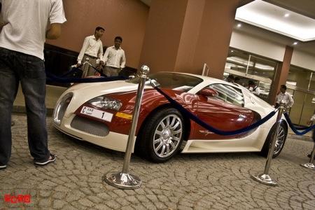 Bugatti Veyron Pegaso Edition, superdeportivo con un poquito de español