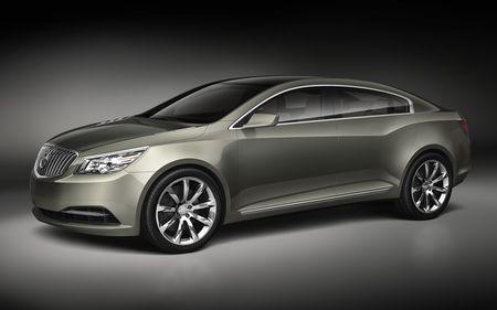 Buick Invicta Concept, anticipación del LaCrosse