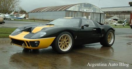 Byscaine GT, una réplica argentina del Ford GT40