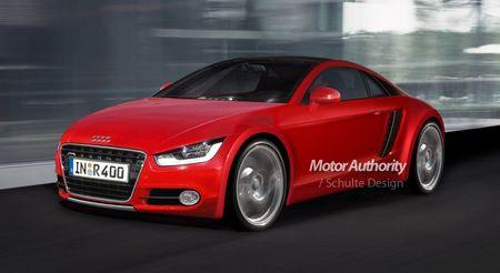 Los futuros deportivos de Audi, adelanto