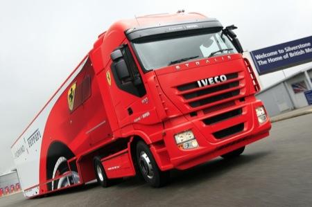 Iveco Stralis Active Space Super3, el gran camión que transporta Ferraris