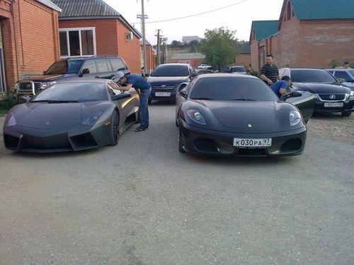 Chechenia, superdeportivos y pobreza