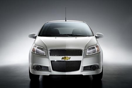 Nuevo Chevrolet Aveo 2008, antes conocido como Kalos