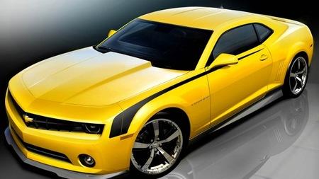 Preparaciones del Chevrolet Camaro para el SEMA