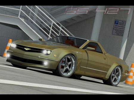 Chevrolet El Camero Concept, recreación del nuevo Camaro convertido en pick-up