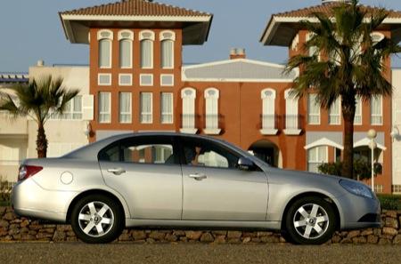 Chevrolet Epica 2008. Chevrolet Epica, nueva caja de