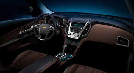 Chevrolet Equinox 2010, adelanto de Detroit